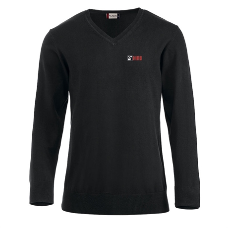 Pullover v-neck HIAB, men