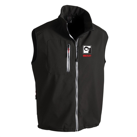 Softshell vest MULTILIFT, men